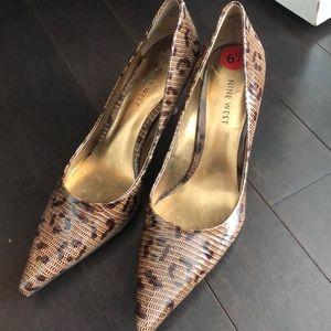NWT BNWT Nine West Genuine Leather Heels